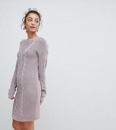 Платье-джемпер Fashion Union Tall - Фиолетовый