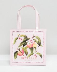 Сумка с цветочным принтом и небольшим логотипом Ted Baker - Розовый