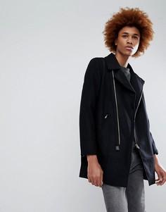 Пальто на молнии Criminal Damage Nuckie - Черный