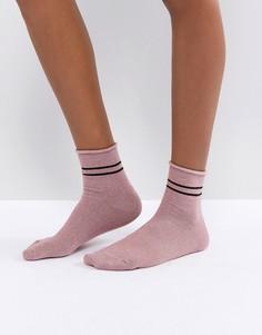 Носки с блестками Vero Moda - Розовый