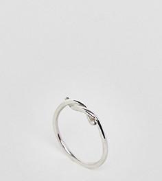 Серебряное кольцо с эффектом колючей проволоки Kingsley Ryan - Серебряный