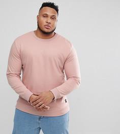 Свитшот с круглым вырезом Only & Sons PLUS - Розовый