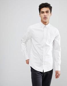 Однотонная рубашка Only & Sons - Белый