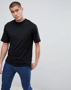 Свободная футболка Only & Sons - Черный