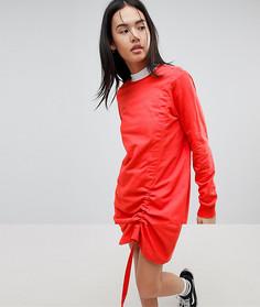 Трикотажное платье-джемпер Noisy May - Красный