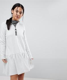 Платье с заниженной талией Noisy May - Белый