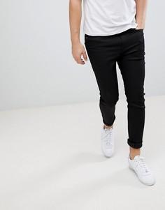 Узкие джинсы из необработанного денима G-Star Type C 3D - Темно-синий
