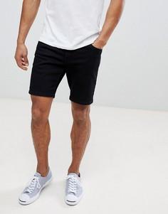 Черные джинсовые шорты Farah Drake - Черный