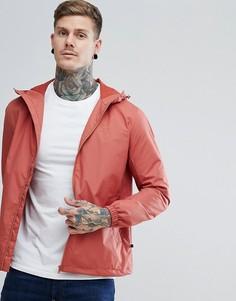 Оранжевая куртка на молнии с капюшоном Farah Smith - Оранжевый