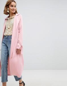 Тренч Vero Moda - Розовый