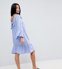Платье с завязкой на спине Vero Moda Petite - Фиолетовый