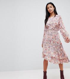 Асимметричное платье с принтом пейсли Vero Moda Petite - Мульти