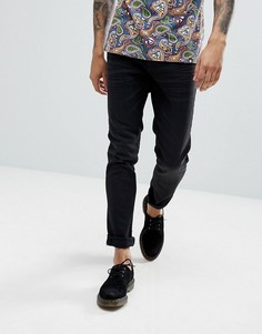 Черные джинсы скинни Pretty Green Castlefield - Черный