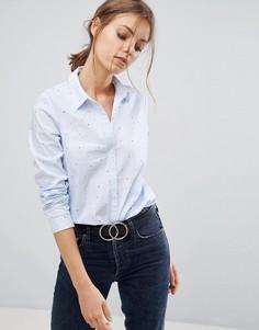 Рубашка с принтом Esprit - Розовый