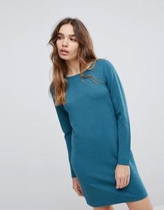 Фактурное платье JDY - Зеленый