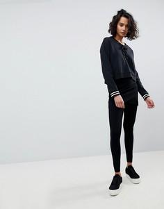 Леггинсы с запахом AllSaints - Черный