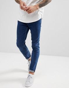 Темно-синие джинсы скинни River Island - Синий