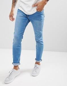 Светло-голубые джинсы скинни River Island - Синий