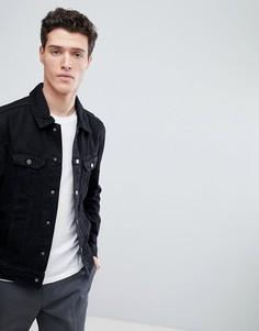 Классическая джинсовая куртка Native Youth - Черный