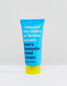 Крем для рук с белым чаем Anatomicals The Cream of British Society 100 мл - Бесцветный