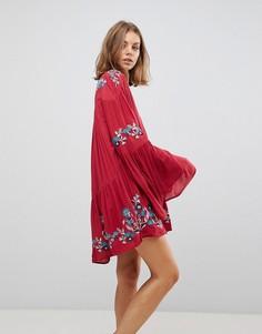 Платье Free People Te Amo - Красный
