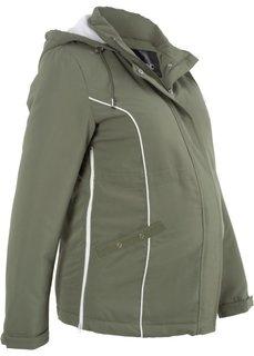 Куртка для беременных (оливковый) Bonprix
