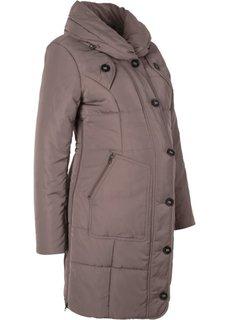 Для будущих мам: стеганая куртка (бурый) Bonprix