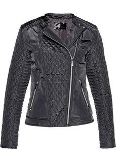 Куртка байкерская стеганая (шиферно-серый) Bonprix