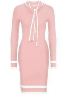 Платье (розовый/белый) Bonprix