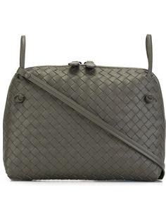 плетеная сумка через плечо  Bottega Veneta