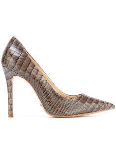 туфли с эффектом змеиной кожи Schutz