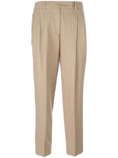 зауженные брюки со складками Alberto Biani