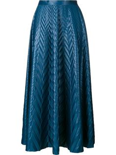 длинная юбка с узором шеврон Golden Goose Deluxe Brand