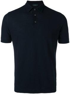 футболка-поло с короткими рукавами  Zanone