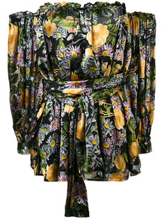 платье с цветочным принтом For Love And Lemons