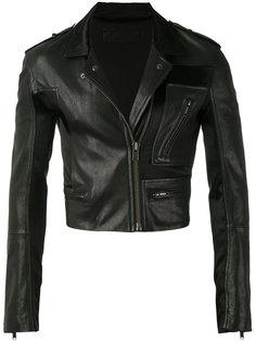 укороченная байкерская куртка  Haider Ackermann