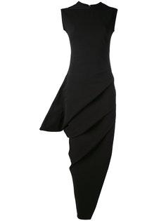 платье с асимметричным подолом Rick Owens