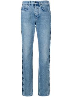 джинсы свободного кроя со звездами Givenchy