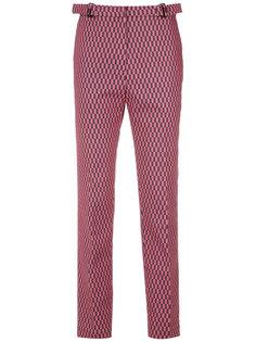 прямые брюки с принтом Reinaldo Lourenço