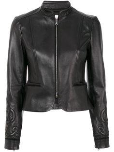 приталенная куртка на молнии Red Valentino