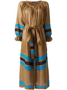 полосатое платье с поясом Vita Kin