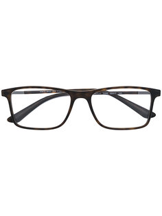 очки в квадратной оправе Giorgio Armani