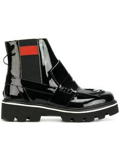 ботинки Челси с бахромой MSGM
