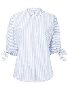 рубашка с завязками на рукавах Estnation