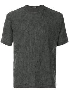 креповая футболка  Issey Miyake