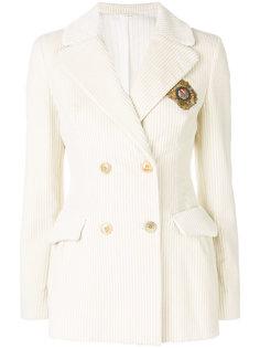 двубортный пиджак Ermanno Scervino