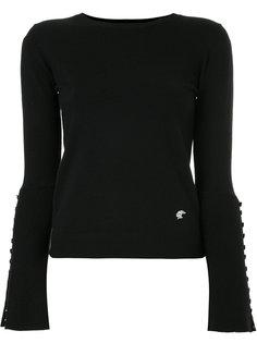 свитер с расклешенными рукавами Loveless