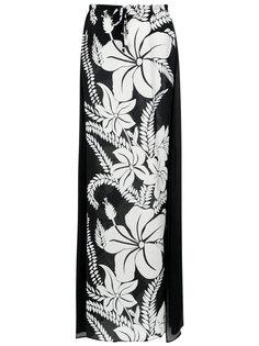 floral print skirt Amir Slama