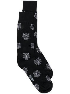 носки с принтом тигра Kenzo