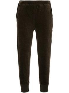 укороченные свободные брюки  Vince
